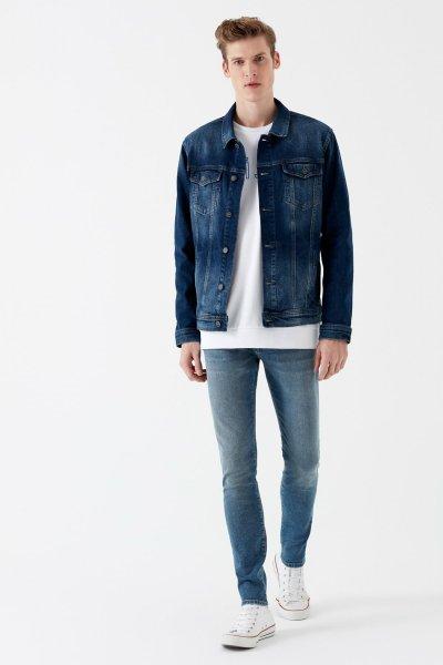 Mavi Erkek Leo 90'S Gri Jean Pantolon