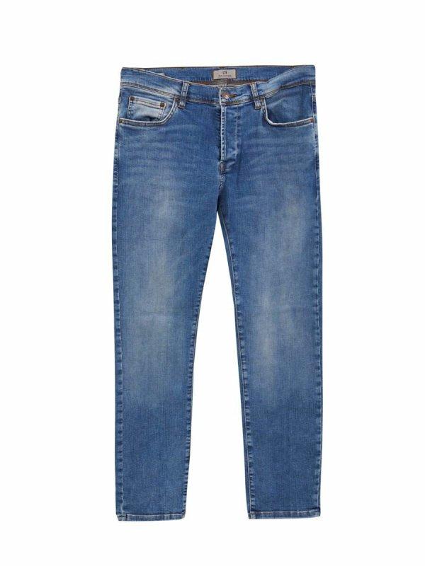 Enrıco Mıd Pure Blue Jeans 01009505551488853070