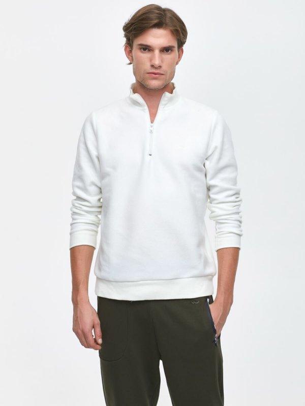 Marıfod Yarım Fermuarlı Sweatshirt 0112286106600190000