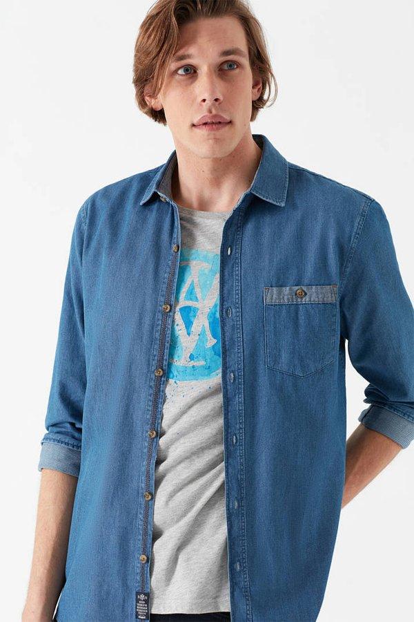 Mavi Gömlek 021438-18790