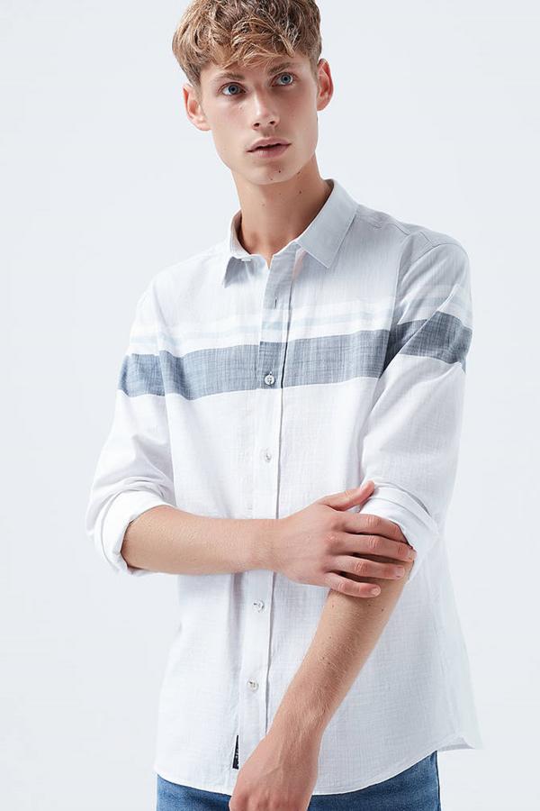 Uzun Kol Gömlek Beyaz