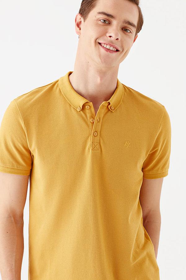 Polo Tişört Hardal