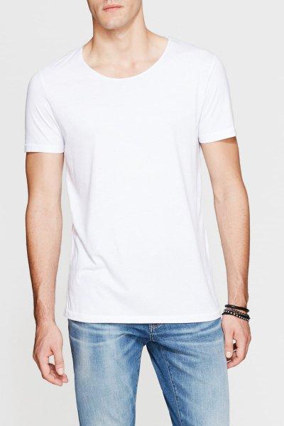 Mavi Erkek Tısört Beyaz 064019-620