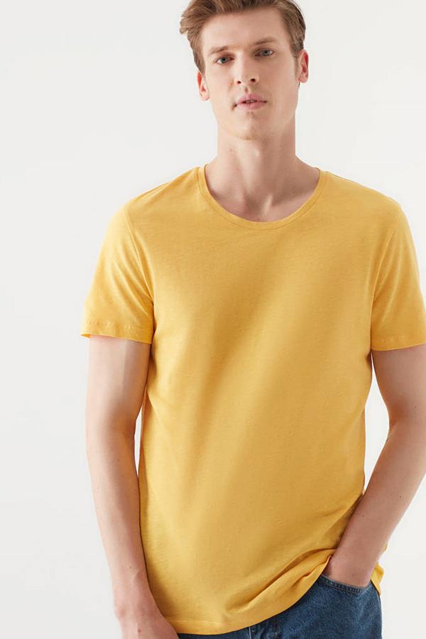 Tişört Limon Sarı