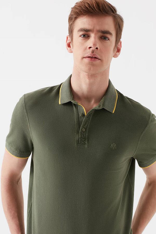 Polo Tişört Zeytin Yeşili