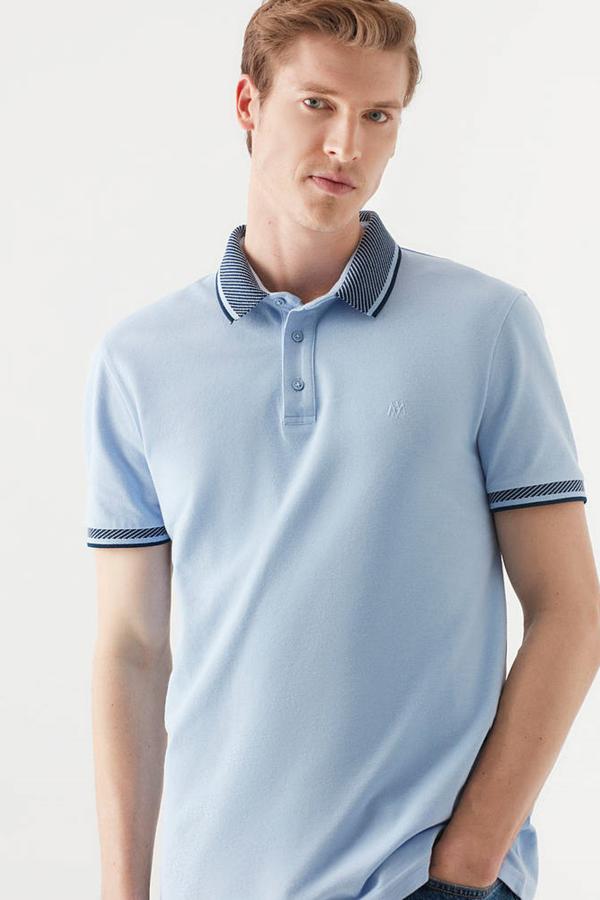 Polo Tişört Bebe Mavi