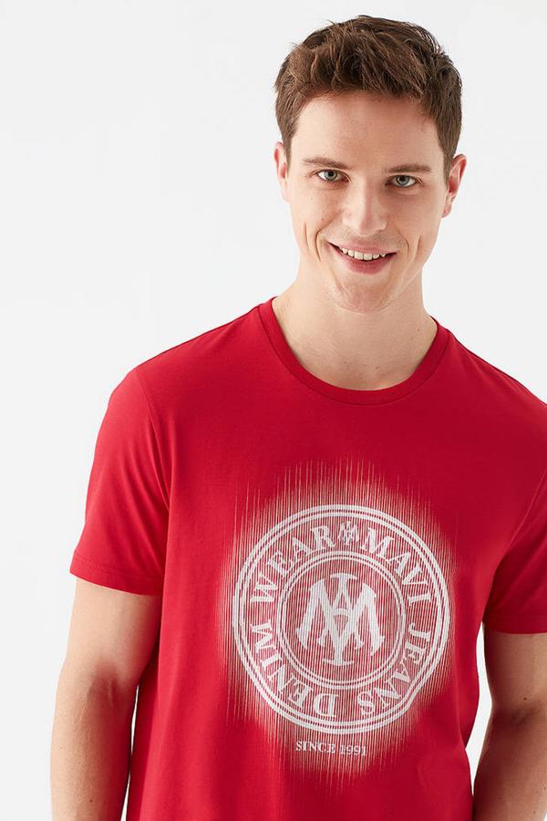 Logo Tişört Kırmızı