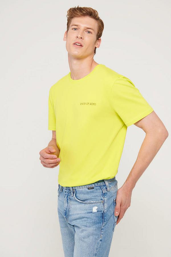 State Of Mınd Tişört Lime