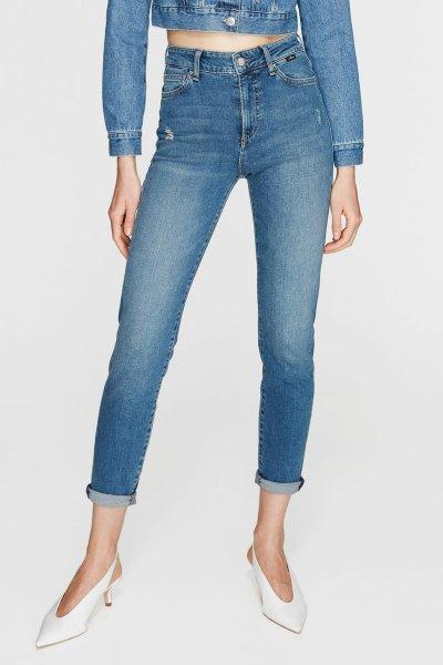 Mavi Kadın Cındy Indigo Vintage Str Jean Pantolon 100277-21870