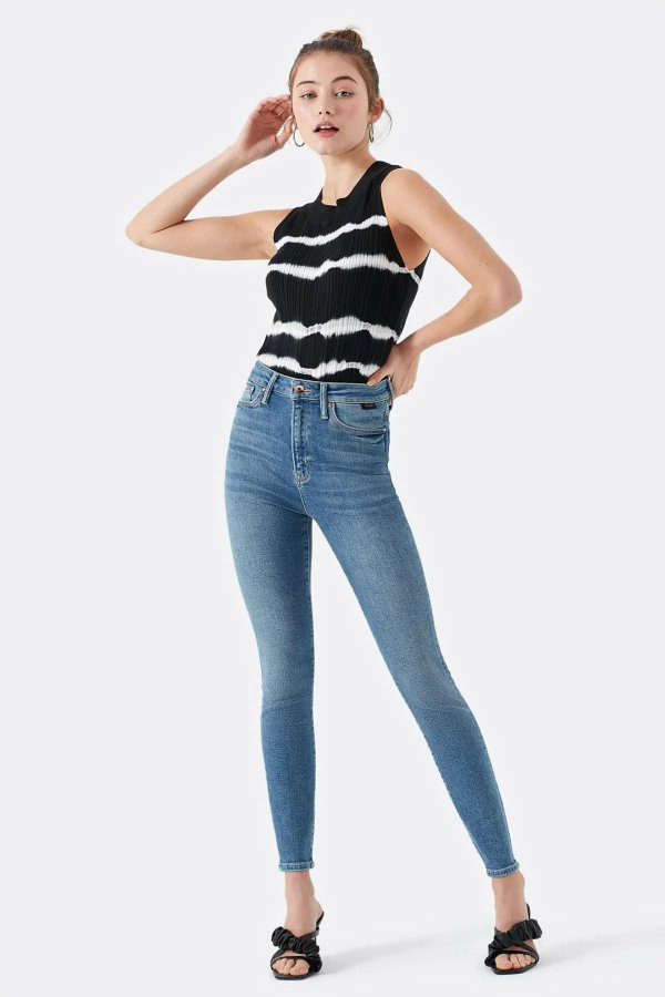 Mavi Serenay Mid Gold Shape Jeans 100980-30860