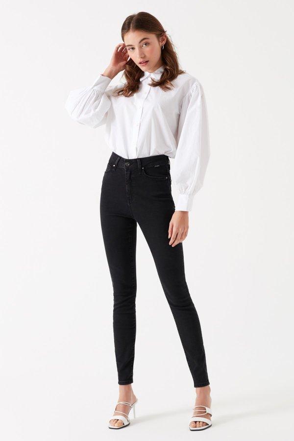 Mavi Serenay Smoke Gold Shape Jeans 100980-30863