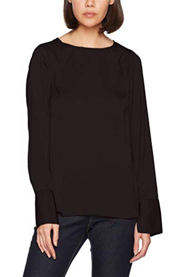 Vero Moda Kadın Bluz Vmbrıght Ls Top Ga 10187807