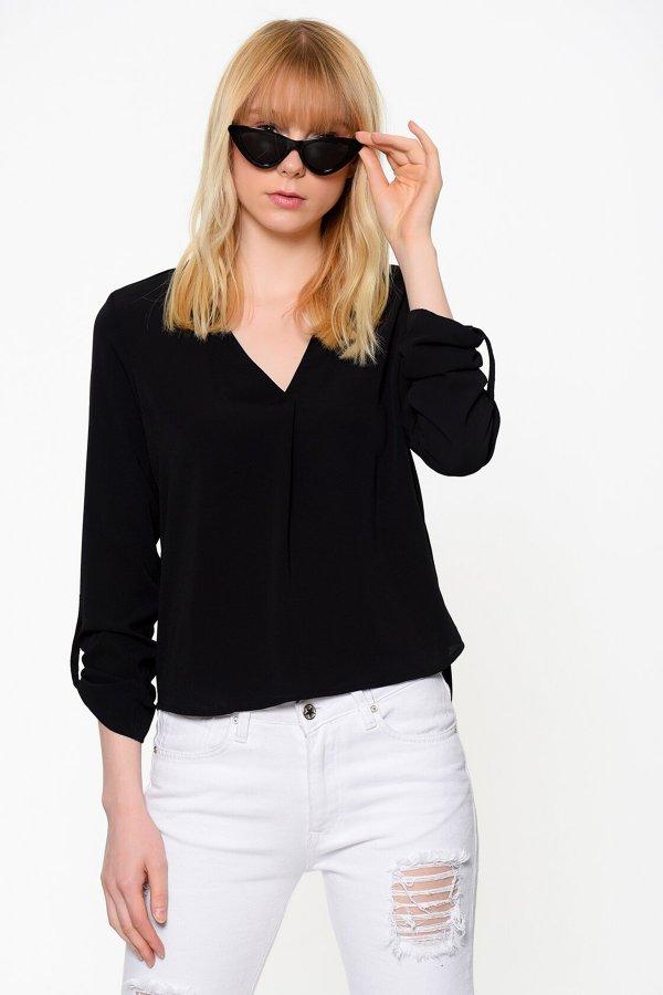 Vero Moda Kadın Bluz Vmsachı 3/4 Top A 10188108