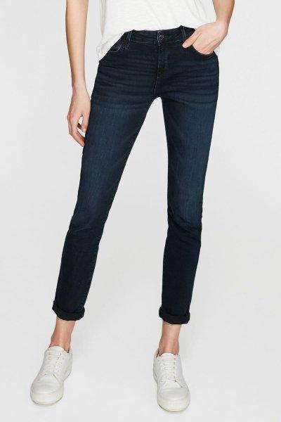 Mavi Kadın Ada Deep Blue-Black Vintage Jean Pantolon 1020524264
