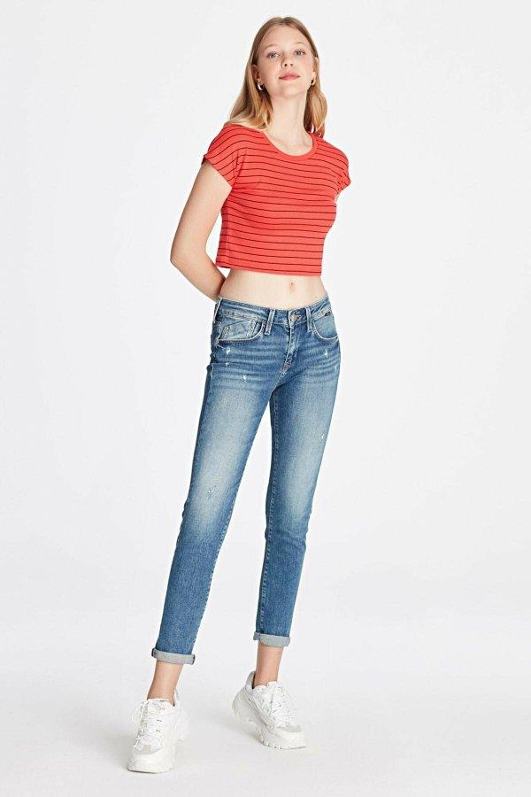 Mavi Ada Mid Ripped Rome Jeans 1020530403