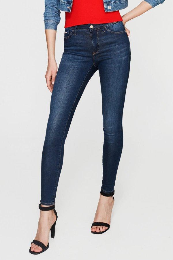 Mavi Kadın Alıssa Dark Golden Gold Jean Pantolon 1067827260