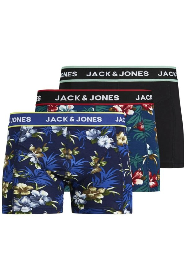 Jack Jones Jacflowers 3'lü Boxer 12171253
