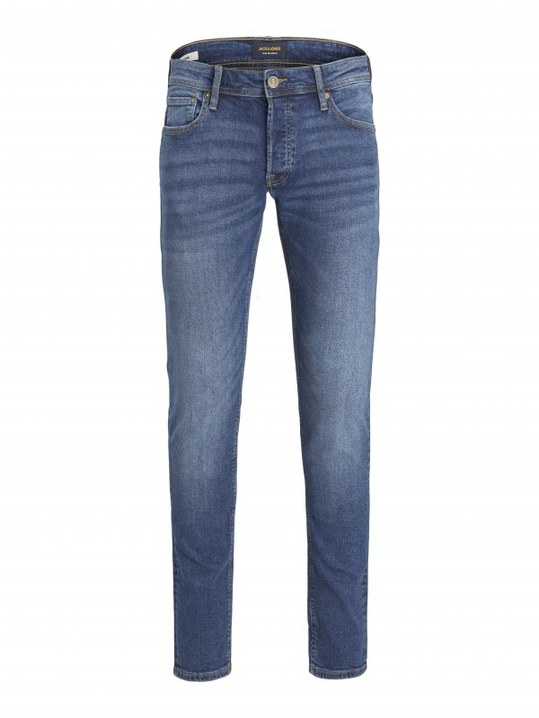 Jjıwglenn Düşük Bel Slim Fit Jeans 12195686