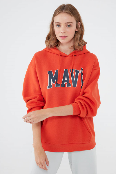 MAVI SWEATSHIRT turuncu