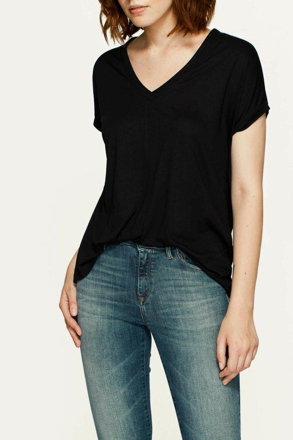 Mavi Kadın Basıc V Yaka Tişört 166449-900